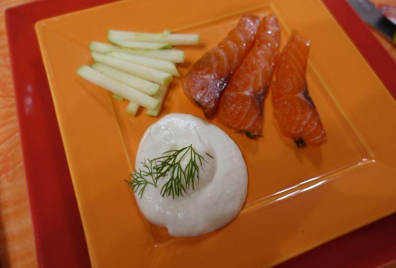 Gravelax saumon